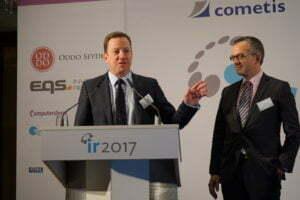 IR 2017 Investor Relations Konferenzen cometis AG