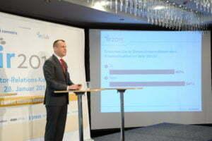 IR 2015 Henryk Deter cometis AG Investor Relations Konferenz