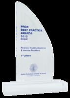 2015: PRGN – Best Practice Award
