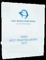 2012: PRGN – Best Practice Award