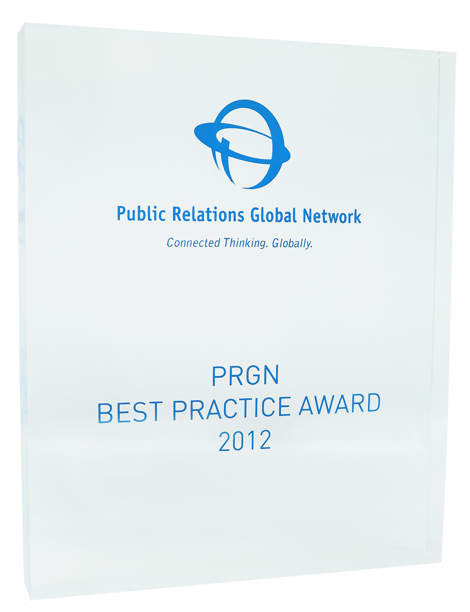 PRGN_Best Pratice Award_2012