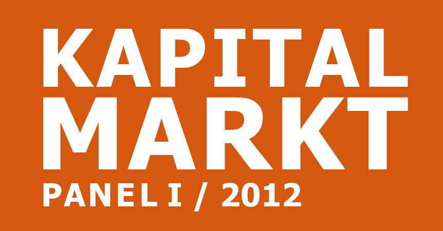 cometis AG Kapitalmarkpanel I 2012