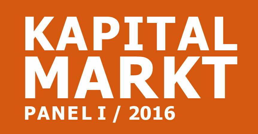 cometis AG Kapitalmarkpanel II 2016