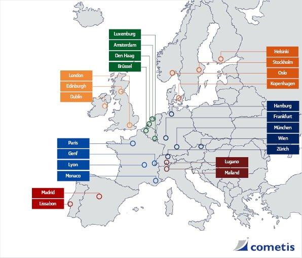 Kontakt z inwestorami w całej Europie