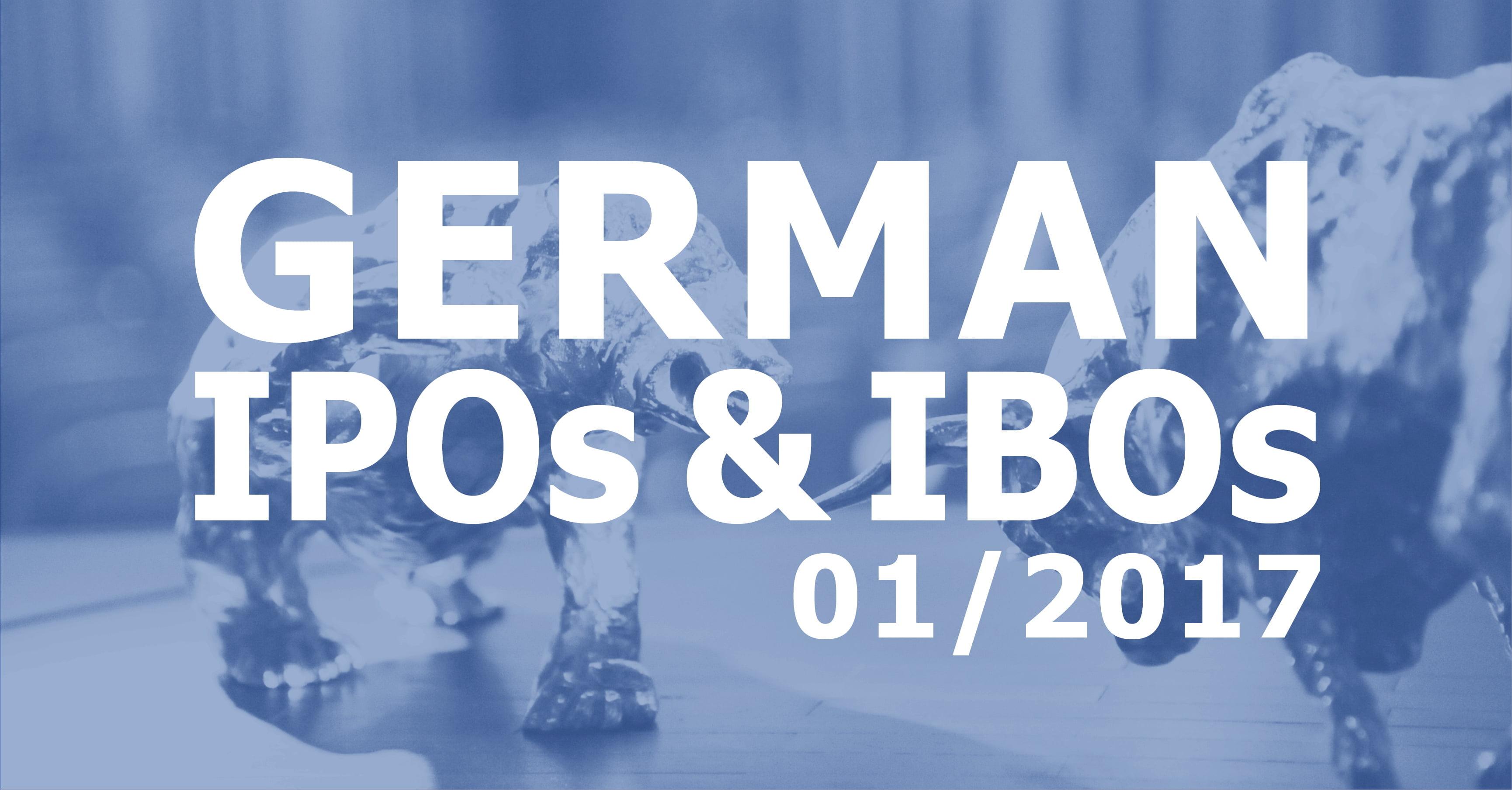 German IPOs and IBOs 01/2017