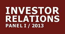 cometis AG Investor Relations-Panel I 2013