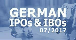 German IPOs & IBOS 07/2017