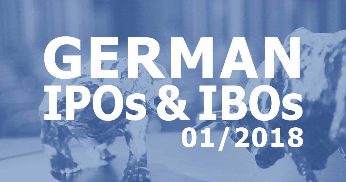 German IPOs & IBOS 07/2017