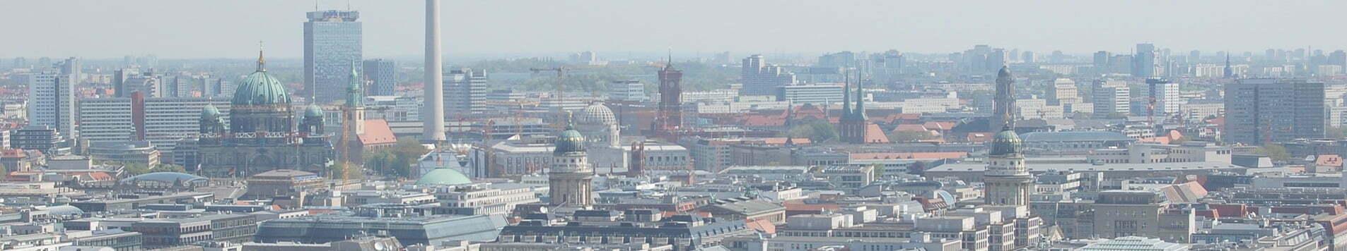 Skyline Berlin Alexanderplatz