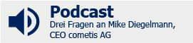 Podcast- Drei Fragen an Michael Diegelmann