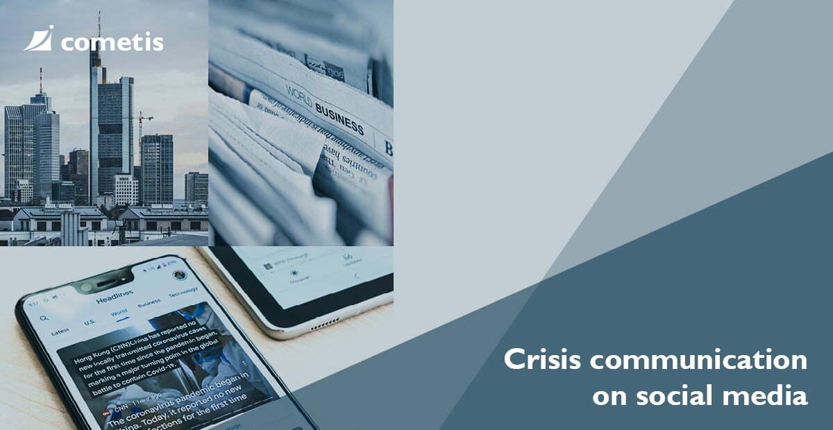 Banner Social media for crisis communication?