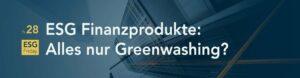 Nachhaltige Finanzprodukte sind im Trend. Doch was bedeutet nachhaltig überhaupt? Sind diese Finanzprodukte so grün, wie sie angeblich sein sollen? Die zugrundeliegenden Daten und Ratings lassen Zweifel aufkommen. Und die DWS zeigte jüngst, dass der grüne Schein trügen kann